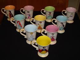 disney princess designer collection mugs back side flickr