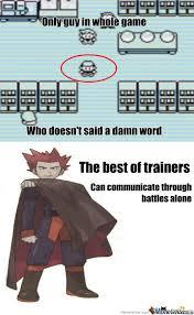 Pokemon Trainer Red Meme - rmx silent trainer by shakeled meme center