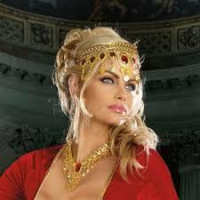 gold headpiece rubies gold headpiece 322286 trendyhalloween