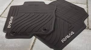 floor mats for toyota amazon com genuine toyota all weather floor mats for the 2013
