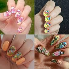 the best floral nail art inspiration on instagram photo 1