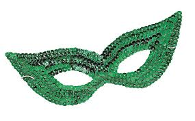 venetian masquerade mardi gras mask sequin glitter cat eye mask