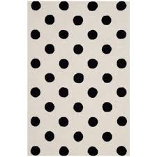 Black And Brown Area Rugs Polka Dots Area Rugs You U0027ll Love Wayfair