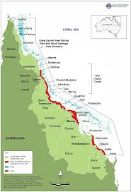 Great Barrier Reef Map The Great Barrier Reef World Heritage Area And Its Catchments