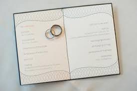 Winter Wedding Programs Wolves U0027 Winter Wedding The Details Weddingbee