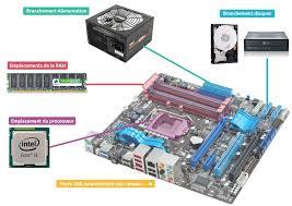 carte mere ordinateur bureau processeur et carte mère cours informatique gratuit xyoos