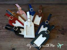 wedding favor luggage tags monogrammed leather luggage tags save the dates for