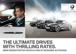 car ads 2016 ad get low financing packages on demonstrator bmw vehicles and a