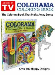 color of happy coloring book color me happy as seen on tv