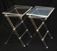 Folding Tray Table Set Attractive Folding Tray Table Set With Pinterest The World39s