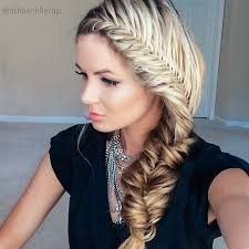 the chunky french fishtail tutorial barefoot blonde by amber