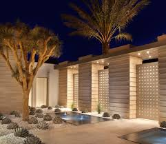 courtyard landscaping ideas landscape contemporary with white