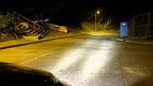 Waterproof Led Light Bar 12v by Waterproof 1000lm 12v 15w 3000k Cree Yellow Led Light Vs Normal H4