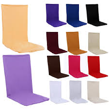 cloth chair covers proof chair covers wedding decoration solid colors polyester