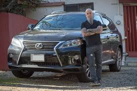 lexus service huntington beach celebrity drive scott ian anthrax guitarist motor trend