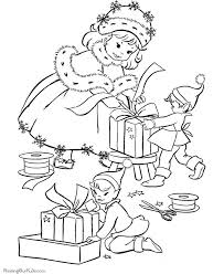 173 christmas coloring pages images