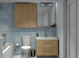 bathroom bathroom terrific using blue glass tile backsplash ikea