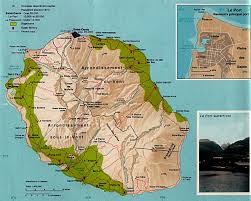 Africa Time Zone Map by Map Of Reunion Island And Reunion Map And Information Page