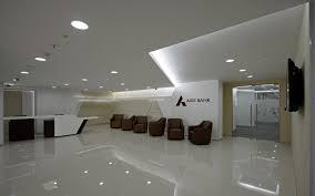 Bank Interior Design by Axis Bank