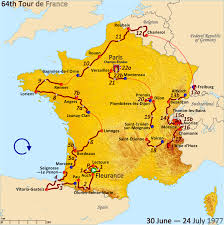 Dijon France Map by 1977 Tour De France Wikipedia