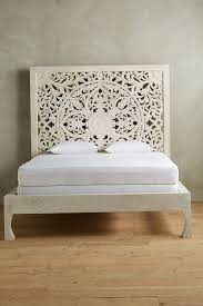 Carved Wooden Headboards Carved Wood Headboard White Home Design Ideas