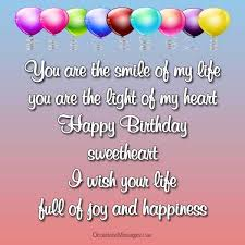 top 150 birthday love messages occasions messages