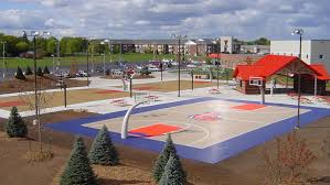 How To Build A Basketball Court In Backyard Customer Testimonials Made In The U S A Outdoor Basketball