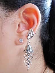 ear cuffs on both ears 61 best ear cuff 3 images on ear cuffs