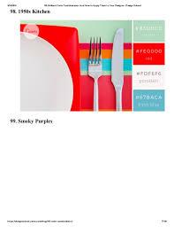 1950s color scheme 100 brilliant color combinations by heera