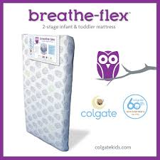 Monarch Crib Mattress By Colgate Colgate Breathe Flex 2 Stage Crib Mattress The Innovative Colgate