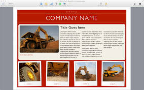 mac brochure templates templates for pages for mac made for use 6 page newsletter