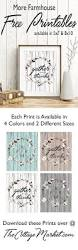 5806 best images about craftygirl on pinterest free sewing free farmhouse printables for your home available in 4 weathered wood shades snatch up