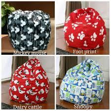 Bean Bag Sofa Pattern Mickey Mouse Bean Bag Chair Sofa F End 11 21 2016 10 15 Pm