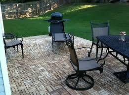 flooring perfect combination of interlocking deck tiles with