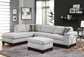 Black Leather Sectional Sofa Coaster Darie Leather Sectional Sofa Centerfieldbar Com