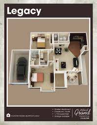 Apartment Over Garage Floor Plans Projects Inspiration 9 Open Floor Plan Garage Apartment 35489gh Rv