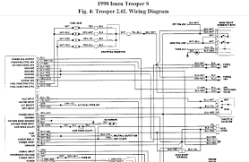 isuzu trooper wiring diagram dolgular com