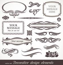 classic text boxes vector set ornament pixempire