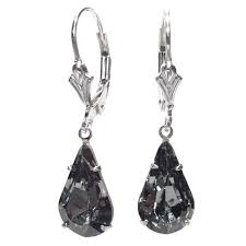 are leverback earrings for pierced ears cheap charcoal earrings find charcoal earrings deals on line at