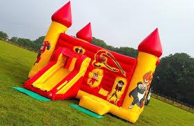 massive disney u0027the incredibles u0027 inflatable bouncy castle the