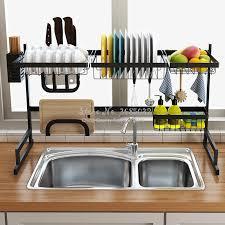 kitchen sink cabinet sponge holder cheap kitchen organizer dishes dryer storage rack holder kitchen sink sponge holder tableware dinnerware dryer rack