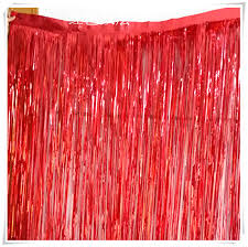 Wedding Backdrop Background Aliexpress Com Buy 6set Lot 1m 2 5m Colour Tinsel Door Curtain