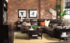 home design good red and black living room set big lots leather