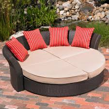 Outdoor Patio Daybed Mission Corinth Daybed Sunbrella Outdoor Patio