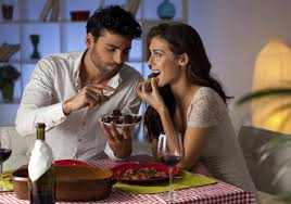 Romantic Dinner At Home by Do A Taurus Man And A Virgo Woman Complement Each Other Perfectly