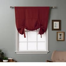 amazon com rhf tie up shade for small window rod pocket