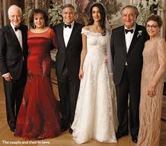 george clooney wedding amal george clooney s wedding wedding details