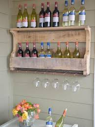 Patio Furniture Made Out Of Wooden Pallets by Patio Decorating Ideas For Spring Diy Wine Racks Pallet Wine