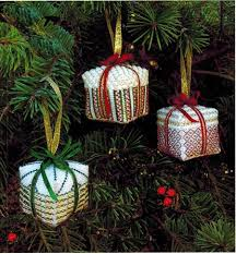 sler gift ornaments cross stitch pattern
