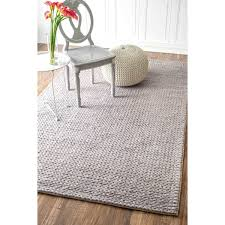 6 Square Area Rug Ottomanson Contemporary Solid Grey 5 Ft X 7 Shag Area Rug Within